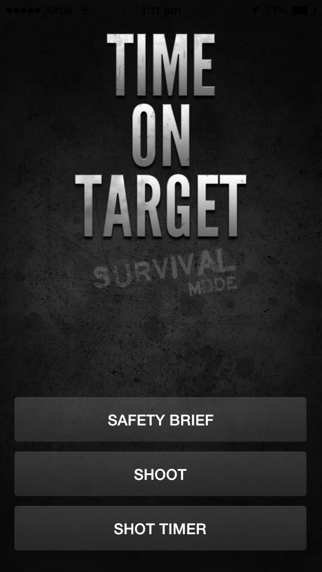Screenshot #1 for Time on Target - Survival Mode