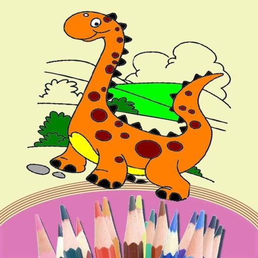 幼儿恐龙绘画图片大全