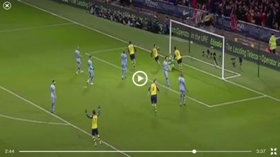 ملخصات المباريات بالفيديو - كرة القدملقطة شاشة3