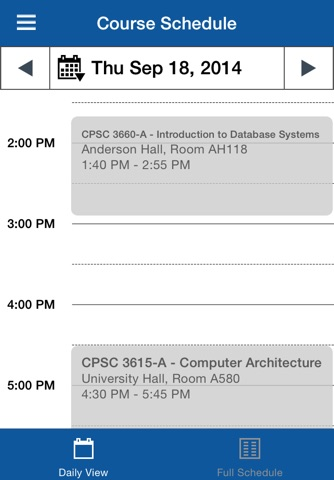 University of Lethbridge Mobile screenshot 3