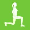 Piernas XFIT - Entrenamiento Diario de apretados muslos , pantorrillas y esculpidos músculos de las nalgas