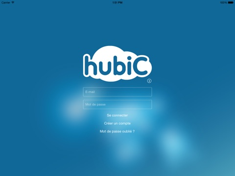 hubiC Capture d'écran