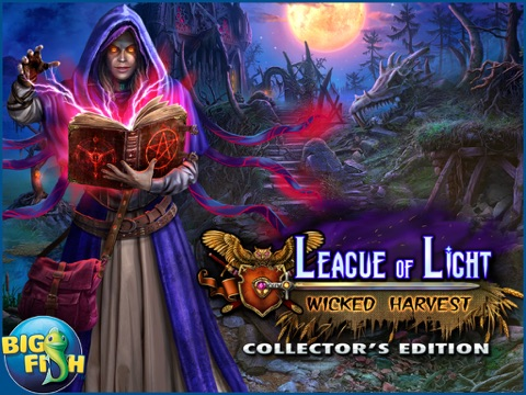 League of Light: Wicked Harvest HD - A Spooky Hidden Object Game (Full)