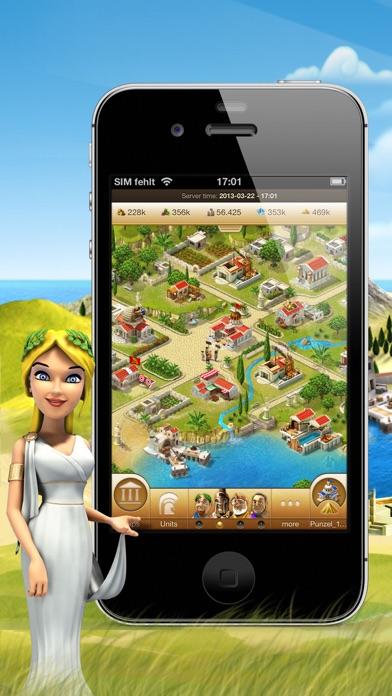 Screenshot of Ikariam Mobile1