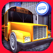 真正的公交车司机 3D。现实的教练和汽车交通仿真和模拟城市