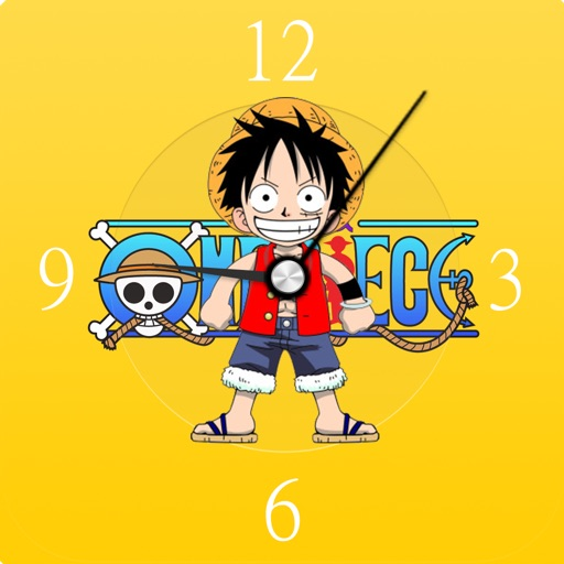 海贼王时钟 – 海贼王ONE PIECE主题时钟