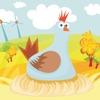 活躍的兒童遊戲2-5歲左右的農場的動物