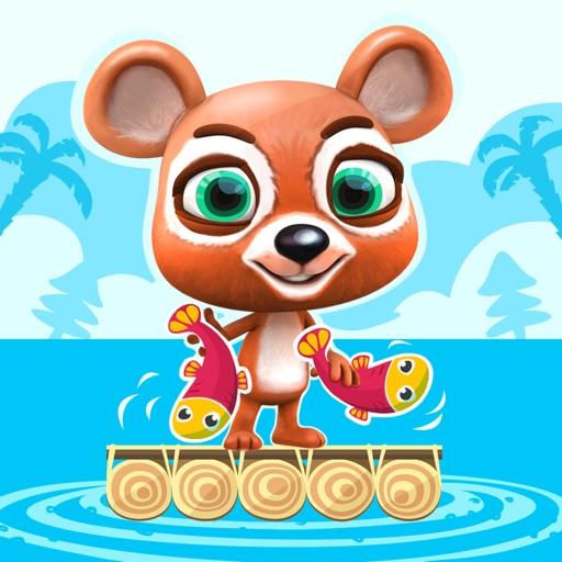 Teddy Bear Jump - Infinite Hunt on Fish Island - Survival Tilt & Run Game iOS App