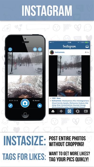 Text Camera Screenshot on iOS