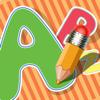 Abc Livro para colorir : Aprender a escrever o alfabeto em Inglês