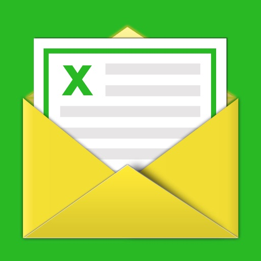 Contacts Backup -- Excel & Email Support iOS App
