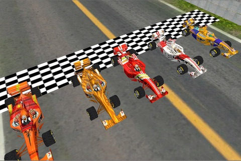 Super Formula Racing 3D screenshot 2