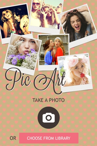 Pic Art The Arty Photo Collages Stamp Scrapbook Editor screenshot 2