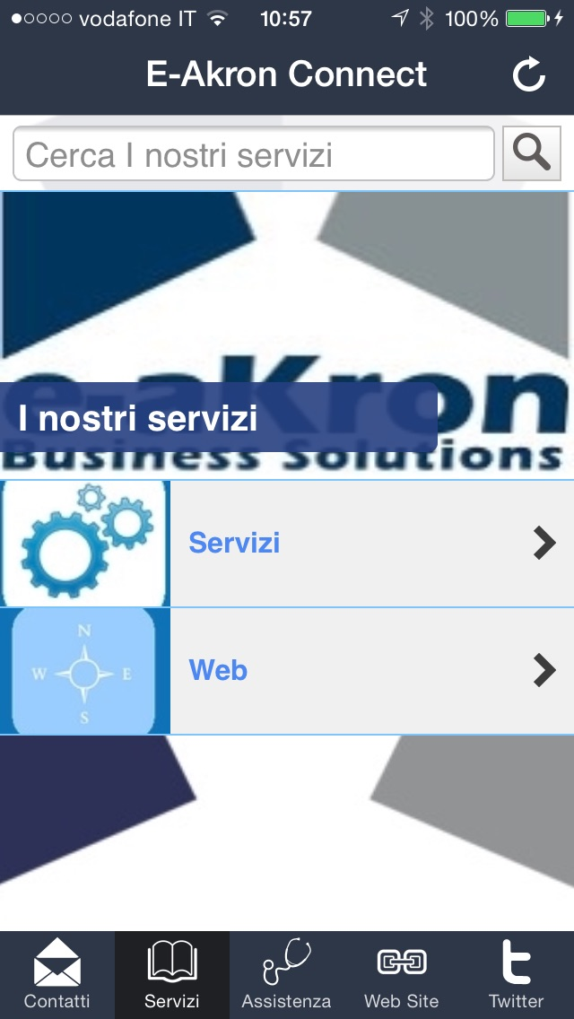 Screenshot of E-Akron Connect3