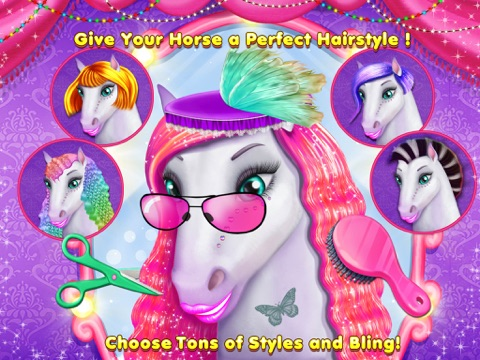 My Lovely Horse Care – Makeup, Dress Up and Hairstyle на iPad