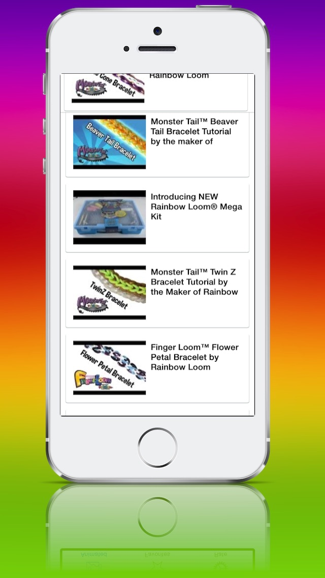 Screenshot for Rainbow Loom Pro in United States App Store