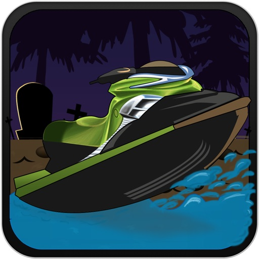 Haunted Jet Ski Race at Toxic Lake iOS App