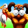 Hunt Duck With My Strong Dog - Superman Go Away!