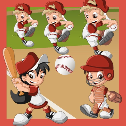 Baby Puzzle: Gioco di Baseball Dei Bambini Per Bambini. Ordinamento Oggetti Per Dimensione