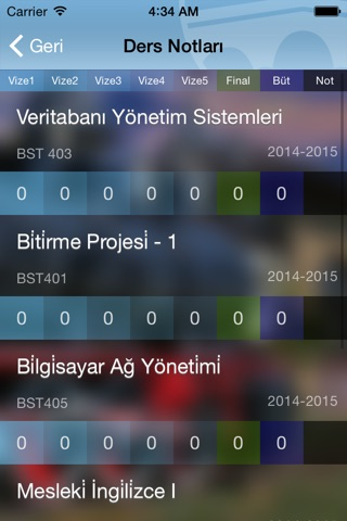 Trakya Not screenshot 3