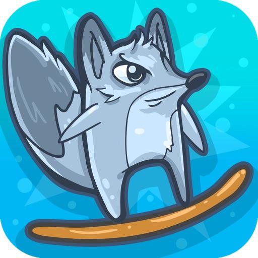 Tiny Arctic Fox - Endless Flying Game iOS App