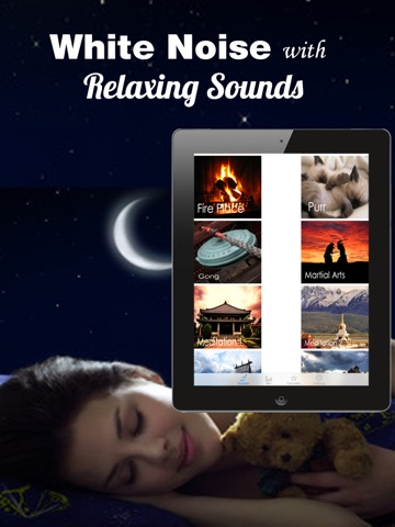 White Noise - Relaxing Sounds, Sleep Melodies & Nature Sounds Screenshots