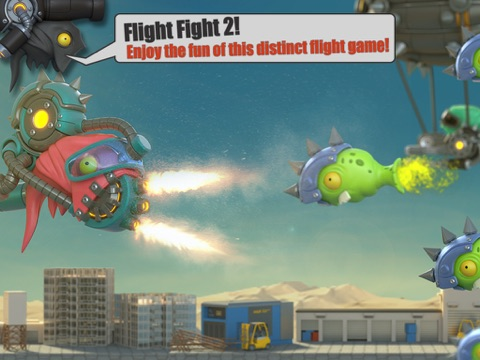 Screenshot #5 for Flight Fight 2 HD
