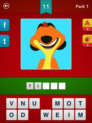 Screenshots of Cartoon Quiz ~ Guess the Cartoons! for iPad