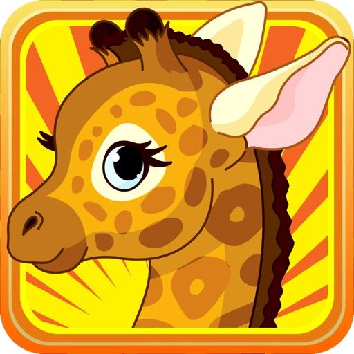 Baby Giraffe Little Zoo Run : Scary Animal Rescue iOS App