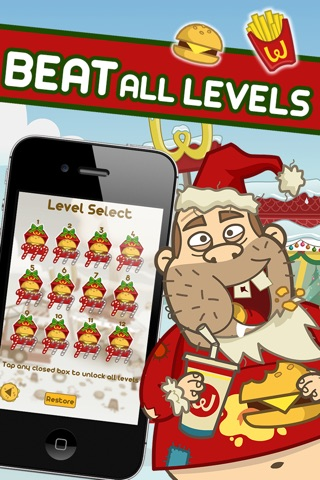 Crazy Burger Christmas - by Top Addicting Games Free Apps screenshot 3