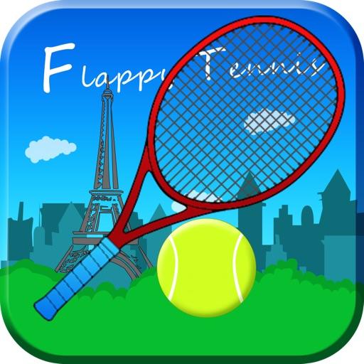 Flappy Tennis - Paris Edition iOS App