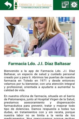 Farmacia J.I. Diaz Baltasar screenshot 2