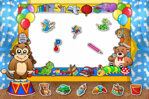 Toys Train • Kids Love Learning Toys: Fun Interactive Adventure Game with Animals, Cars, Trucks and more Vehicles for Children (Baby, Toddler, Preschool) by Abby Monkey® screenshot 3