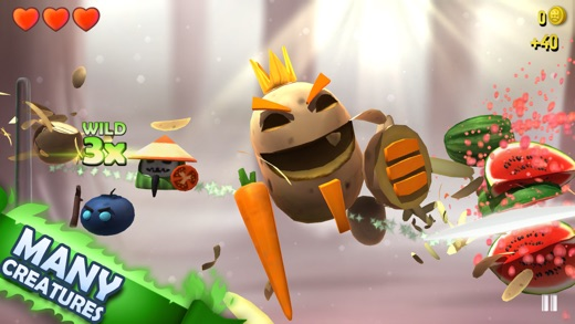KingHunt - The Next Generation Slicing Game Screenshot