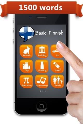 Learn Finnish ™ screenshot 1