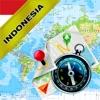 インドネシア(含むバリ)- オフライン地図&GPSナビゲータ