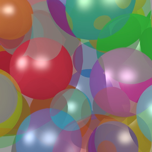 Bubbles and Balloons - Blow them up! iOS App