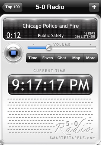 5-0 Radio Pro Police Scanner (Extra Feeds) screenshot 4