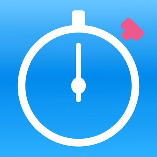 Stopwatch - ミリ秒単位の正確さを持つ専門的で正確なストップウォッチ
