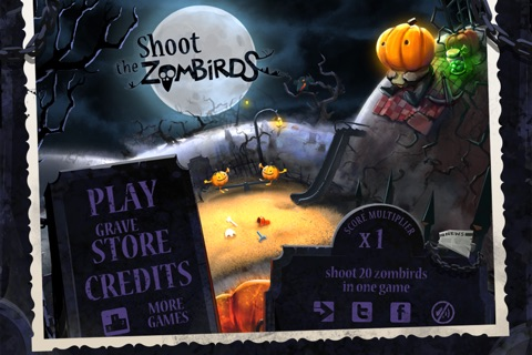 Shoot The Zombirds screenshot 1
