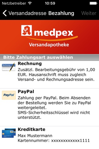 medpex Apotheke screenshot 4