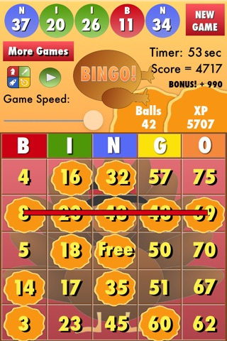 Bingo Thanksgiving screenshot 3