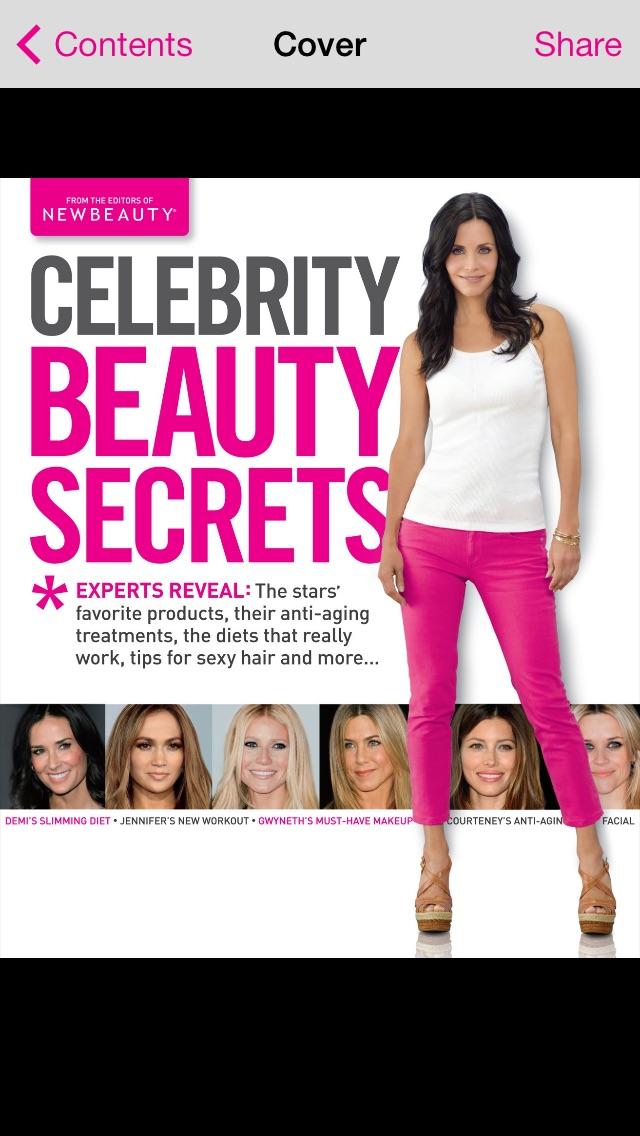 Celebrity Beauty Secrets screenshot1