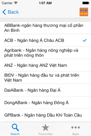 ATM Viet Nam screenshot 1