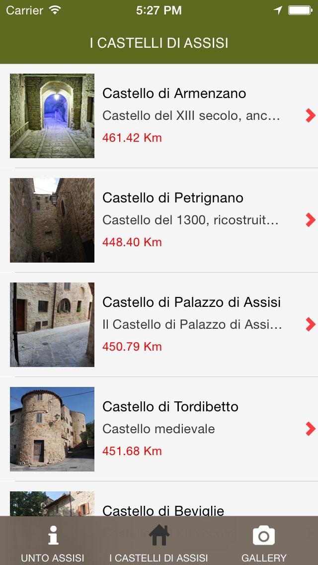 Screenshot of Assisi AppUnto2