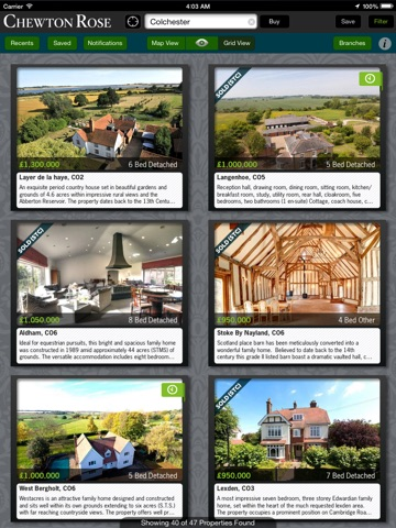 Chewton Rose Property Search - For iPad screenshot 3