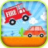 Jumpy Smash Fire Truck Speed Racing Simulation Game