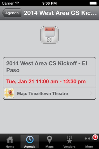 Verizon Wireless West Area Events screenshot 4