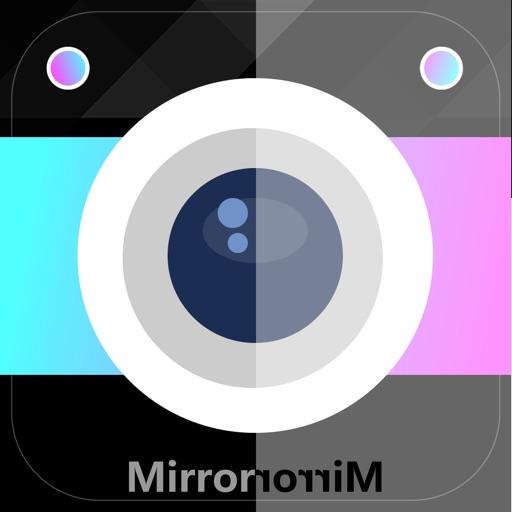 Приложение делать зеркальные фото