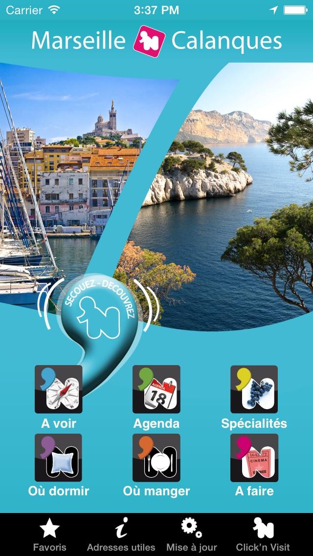 Click 'n Visit - Marseille CalanquesCapture d'écran de 1